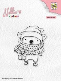 "Nellie's Christmas cuties ""Koala with parcel"" NCCS012"