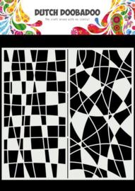 Dutch Doobadoo Mask Art Slimline Mozaiek lijnen 470.715.824