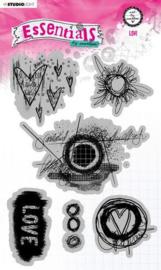 Studio Light A5 Cling Stamp ABM Essentials nr.80