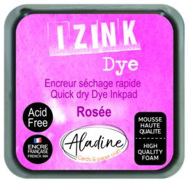 Aladine inkpad izink dye rose  rosee
