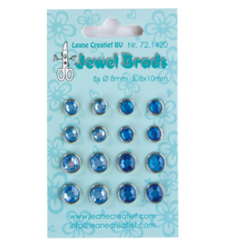 Leane Creatief - Jewel Breads -Darkblue / light blue