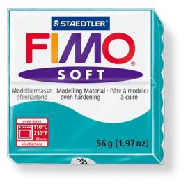 Fimo soft boetseerklei 56 g pepermunt