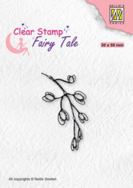 Nellie's Choice Clearstamp silhouette Fairy Tale Nr 25 FTCS025