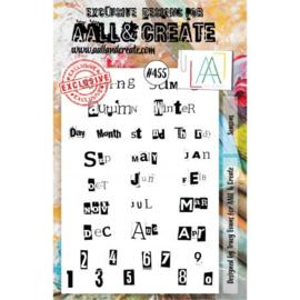 AALL and Create Stamp Set -455