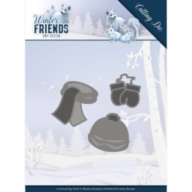 Amy Design - Winter Friends - Warm Winter Clothes ADD10196