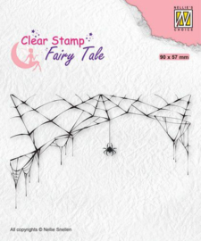 Nellie's Choice Clearstamp silhouette Fairy Tale Nr 24 FTCS024