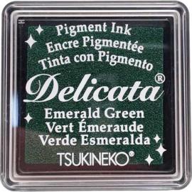 Delicata Emerald green Small inkpad DE-SML-321