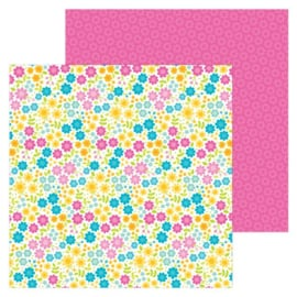 5970: summer paradise double-sided cardstock