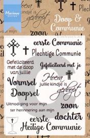 Marianne Design - Doop en Communie