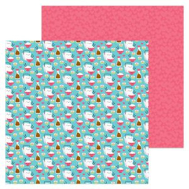 5941: soy happy double-sided cardstock