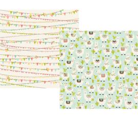 Simple Stories Mama Llama Oh Llama Paper 10164