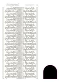 Hobbydots sticker - Adhesive - Black