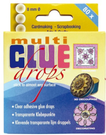 Jeje Multi glue drops 8 mm (80 pcs.)
