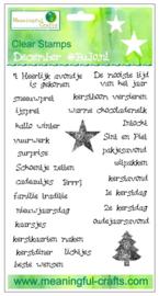 Meaningfull Crafts - Stempelset December BuJo.nl