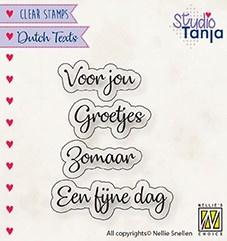 """Nellie Snellen - DTCS026 - Dutch Texts - """"Voor Jou etc..."""""""