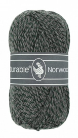 Durable Norwool Grijsgroen melee