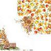 P13-AUT-04 - Piatek13 - Paper The Four Seasons - Autumn 04  30,5x30,5