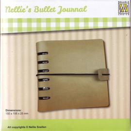 Nellie's bullet journal 150x150mm NBJ001
