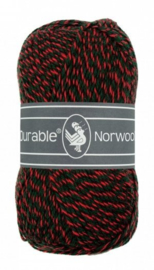 Durable Norwool Rood groen melee