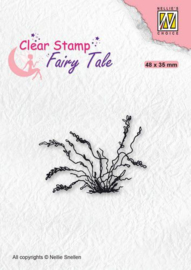 Nellie's Choice Clearstamp silhouette Fairy Tale Nr 27 FTCS027