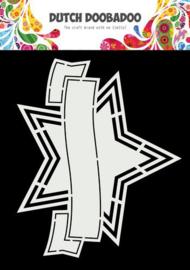 Dutch Doobadoo Shape Art Banner ster 470.784.041 175x145mm