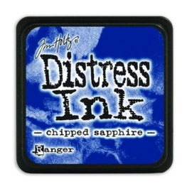 Ranger Distress Mini Ink pad - chipped sapphire TDP39907 Tim Holtz