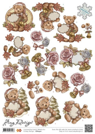 3D Knipvel - Amy Design - Flowers CD10301