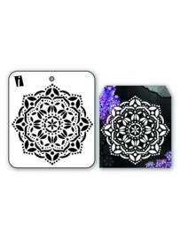 iCraft - Mini stencil - Mandala 2 - I-8957