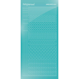 Hobbydots sticker - Mirror - Emerald