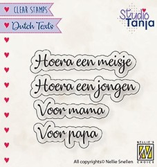 """Nellie Snellen - DTCS028 - Dutch Texts - """"Hoera een meisje etc..."""""""