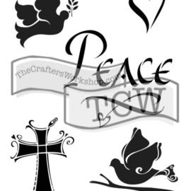 TCW2152 Peace 6x9