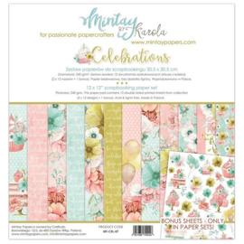 Paperpad Mintay - Celebrations 30,5 x 30,5 cm - MT-CEL-07