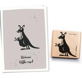 Cats on Appletrees - 2302 - Stempel - Kangoeroe Juan en Abigail