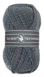 Durable Norwool Plus Blauw grijs melee