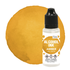 Couture Creations Alcohol Ink Sunshine Yellow / Amber (12mL | 0.4fl oz)