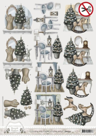 Amy Design - Pushout - Brocante Christmas SB10052