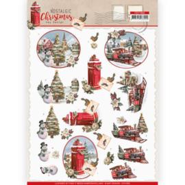 3D Knipvel - Amy Design - Nostalgic Christmas - Christmas Train CD11562