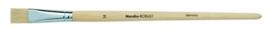 Penseel robust witte platte borstel - Taille 14  Marabu