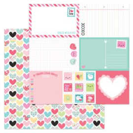 5948: work of heart double-sided cardstock