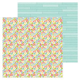 5957: country garden double-sided cardstock