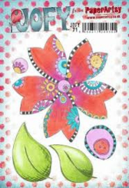 PaperArtsy Eclectica - Mounted Rubber Stamp Set -  Jofy71