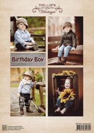 """NEVI064vintage """"Birthday Boys"""""""