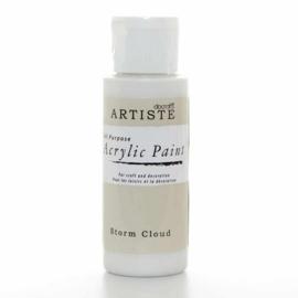 Docrafts - Acrylic Paint (2oz) - Storm Cloud