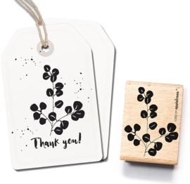 Cats on Appletrees - 2498 - Stempel -  Eucalyptus 3 Groot