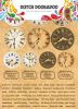 Dutch Doobadoo Dutch Sticker Art A5 Clocks 491.200.003