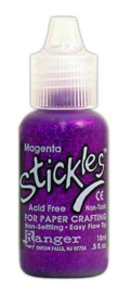 Magenta SGG01850 - Ranger Stickles Glitter Glue 15ml