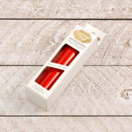 Red-Orange Foil (Iridescent Finish) - 125mm x 5m