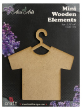 Icraft Mini wooden elements 016 (trui)