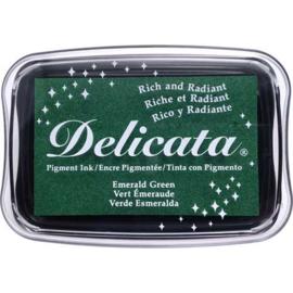 Delicata large inkpadsDE-000-321 Emerald green