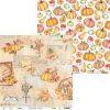P13-AUT-02 - Piatek13 - Paper The Four Seasons - Autumn 02  30,5x30,5